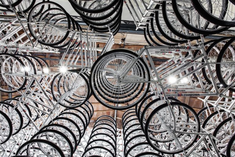AI WEIWEI Stacked 2012