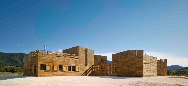 """""""Casa para tres hermanas"""" dello studio Blancafort-Reus Arquitectura"""