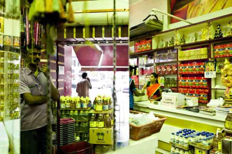 Malesia, settembre 2015. Indian store in Kuala Lumpur.