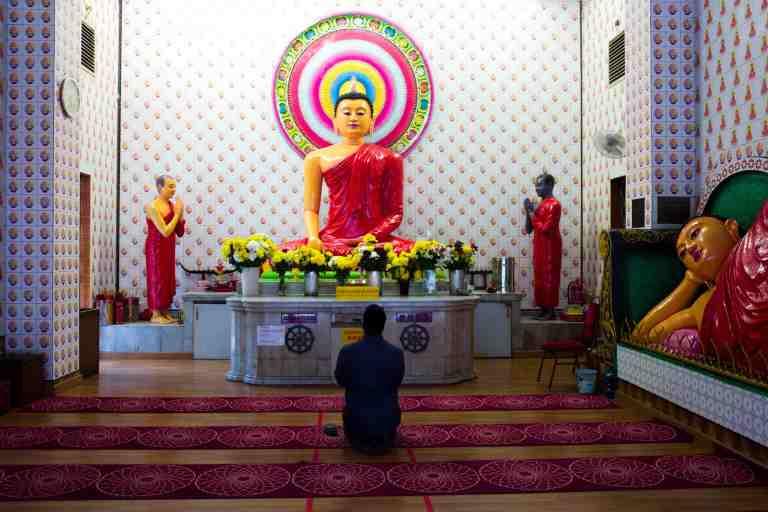 Malesia, settembre 2015. Buddist Temple in KL.
