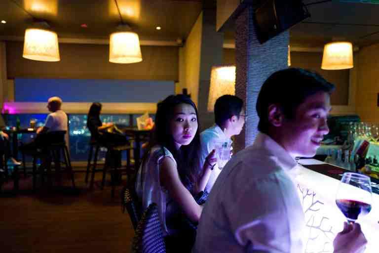 Malesia, settembre 2015. Skybar in KL.